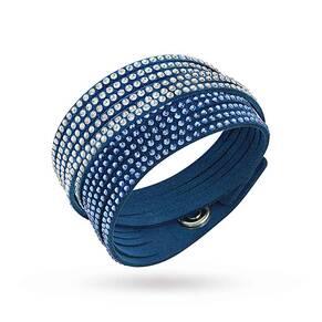 SWAROVSKI Slake Blue 2 in 1 Bracelet