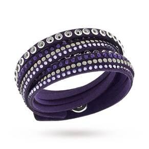 SWAROVSKI Slake Rock Purple Bracelet