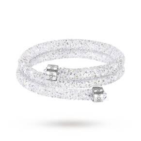 SWAROVSKI Crystaldust Bangle Double Medium