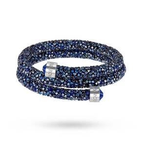 SWAROVSKI Crystaldust Bangle Double Medium