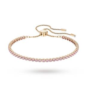 SWAROVSKI Rose Gold Plated Subtle Bracelet