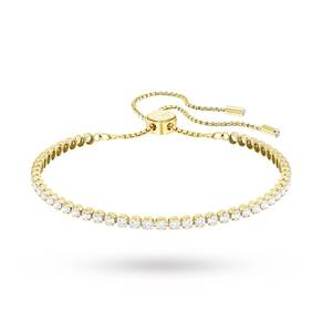 SWAROVSKI Jewellery Ladies' Gold Plated Subtle Bracelet Medium