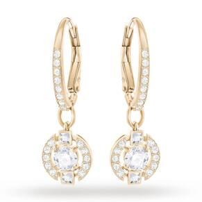 SWAROVSKI Rose Gold Plated Sparkling Earrings