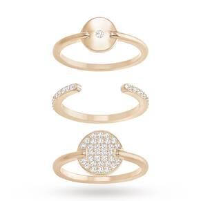 SWAROVSKI Ginger Ring Set, White
