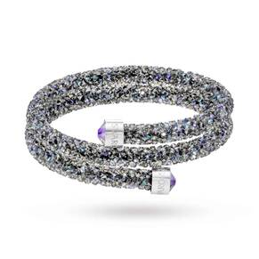 SWAROVSKI Crystal Dust Double Bangle 5273644 Medium