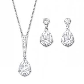 SWAROVSKI Vintage Rhodium Plated Set
