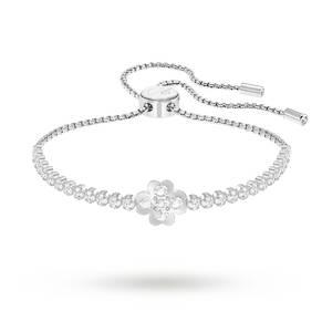 SWAROVSKI Subtle Clover Rhodium Plated Bracelet