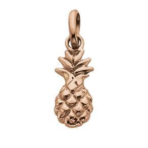 Kirstin Ash Pineapple Charm 18k-Rose Gold-Vermeil