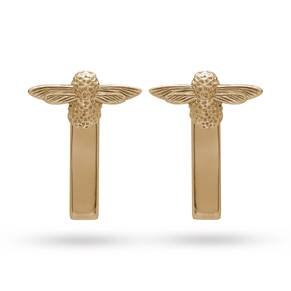 Olivia Burton Moulded Bee Bar Earrings Gold OBJ16AME07