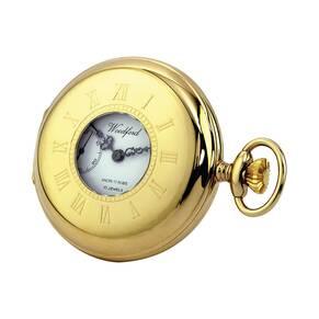 Woodford Half Hunter Pocket Mechanical Watch