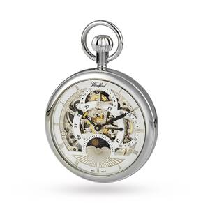 Woodford Skeleton Pocket Mechanical Watch