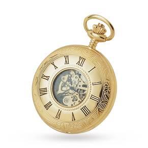 Woodford Half Hunter Skeleton Mechanical Watch