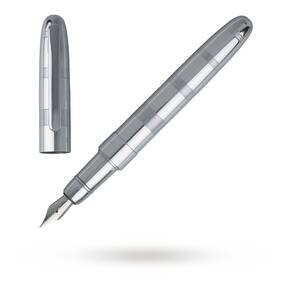 Hugo Boss Rise Chrome Fountain Pen