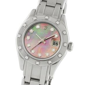 Pre-Owned Rolex Pearlmaster Ladies Watch