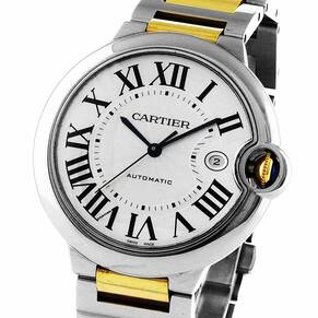 Pre-Owned Cartier Ballon Blue De Cartier Range Ladies Watch