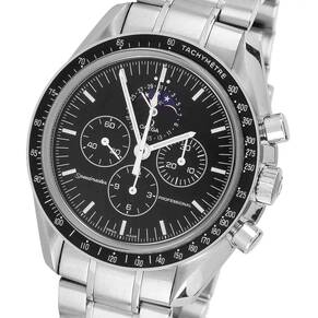 Pre-Owned Omega Speedmaster Moon-Phase Mens Watch