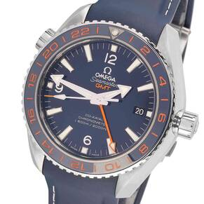 """Pre-Owned Omega Planet Ocean """"Good Planet"""" Mens Watch"""
