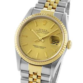 Pre-Owned Rolex Oyster Datejust Mens Watch, Circa 1993