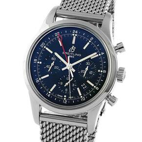 Pre-Owned Breitling Transocean Chrono Mens Watch, Circa 2013