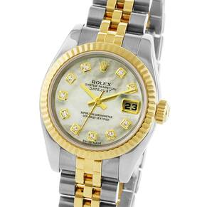 Pre-Owned Rolex Datejust Ladies Watch, Circa 2005
