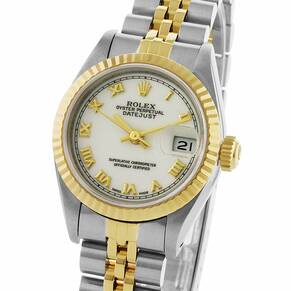 Pre-Owned Rolex Datejust Ladies Watch, Circa 1989