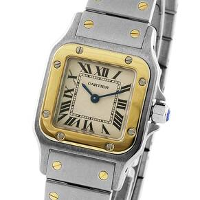Pre-Owned Cartier Santos Galbee, Circa 2004