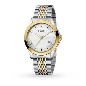 Gucci YA126409 Timeless Bi-Colour Gents Watch
