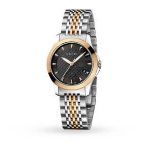 Gucci YA126512 Timeless Bi-Colour Ladies Watch