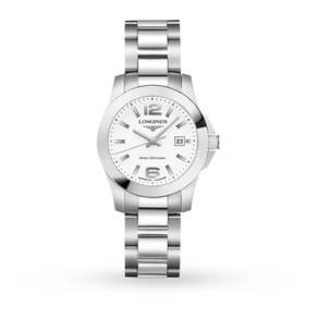 Longines Sport Conquest Stainless Steel Ladies Watch