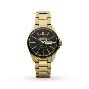 Vivienne Westwood Camden Lock Gold Plated Watch