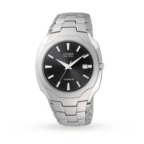 Citizen Eco-Drive Gents Titanium Watch