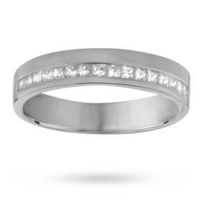 Ladies 0.33 total carat weight diamond wedding ring in 18 ...