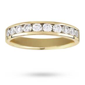 0.50 Total Carat Weight Brilliant Cut 10 Stone Diamond Et ...