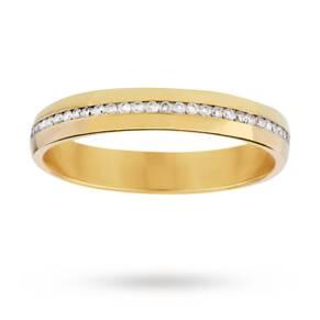 0.30 total carat weight diamond set ladies wedding ring i ...