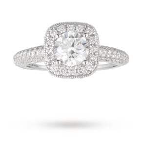 Vera Wang Love brilliant cut 2.00 total carat weight soli ...