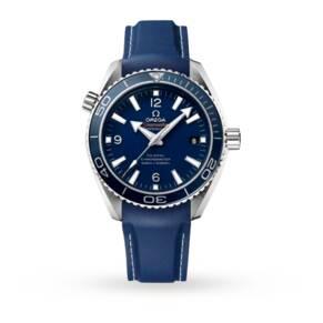 Omega Seamaster Planet Ocean Titanium Mens Watch