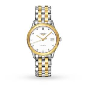 Longines Flagship Mens Bicolour Bracelet Watch