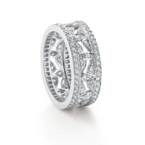Mappin & Webb Empress White Gold and Diamond Ring