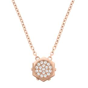 SWAROVSKI Blot Micro Rose Gold PVD Pendant