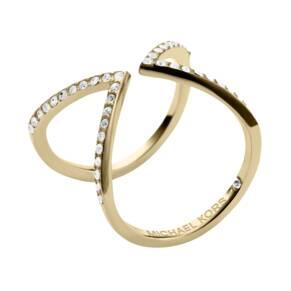 Michael Kors Yellow Gold Colour Arrow Motif Ring