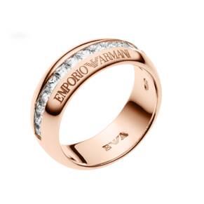 Emporio Armani Pure Eagle Rose Gold Plated Ring