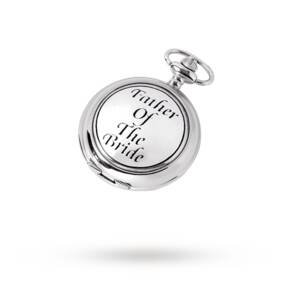 """Woodford """"Father Of The Bride"""" Pocket Watch"""