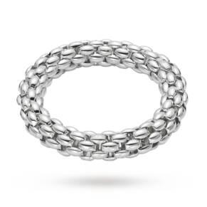 Fope Silver Flex 'It Bracelet