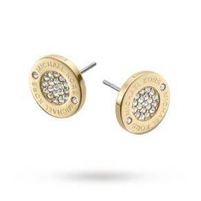 Michael Kors Gold Tone Stud Earrings