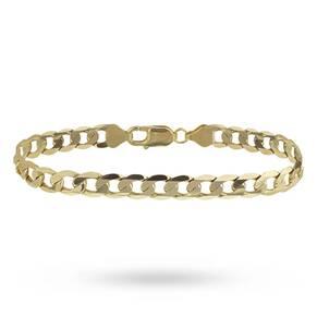 9ct Gold Gents Bracelet